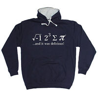 I 8 SUM PI HOODIE pie mathematics math geek nerd hoody funny birthday gift 123t