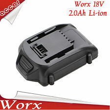 Battery For Worx 18V 2.0Ah Li-ion WA3520 WA3525  WA3511, WA3512, WA3512.1 AU