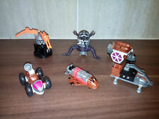 Tonka Motorix Robots /cars /spaceships build your own vintage retro 96 not lego