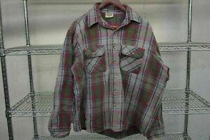 Five Brother vtg Button Up Work Shirt Men's XL Cotton