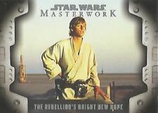 Star Wars Masterwork 2017 - LP-5 Evolution of the Rebel Alliance Chase Card