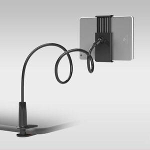 Universal Mount Stand Flexible Holder Desktop Bed Tablet Mobile Phone 4-10 Inch