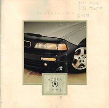 1995 Acura ACCESSORIES / OPTIONS Brochure / Catalog: LEGEND,INTEGRA,Wheels,Gold,