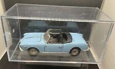 TOGI 9527 ALFA ROMEO GIULIETTA 1300 SPIDER 1955 - BLUE 1:23 WITH DISPLAY BOX