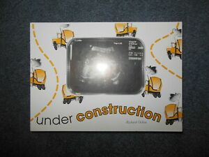 New Baby Ultrasound Sonic Under Construction Trucks Photo Frame Wood