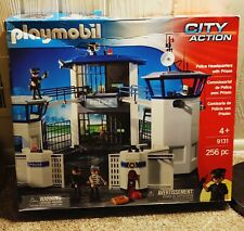 Playmobil City Action Police Headquarters 9131 - Complete, pieces sealed
