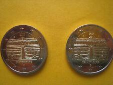 2 Euro Sondermünze Brandenburg 2020 Prägestätte: G - Fehlprägung