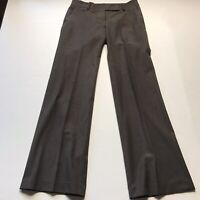 Ann Taylor Brown Seamed Wool Blend Dress Pants Size 2 A638