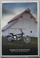 HARLEY DAVIDSON UK MOTORCYCLES 2001 Sales Brochure FXSTS FXDWG ++