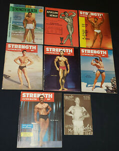 1940/60' - MR MUSCLES, STRENGTH AND HEALTH - FITNESS /BODY BUILDING MAGAZINE (8)