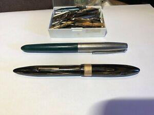 Vintage Parker & Sheaffer Pens with 90+ Nibs