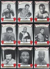 1992 Brown's Boxing 72 Card Complete Set with Lennox Lewis RC
