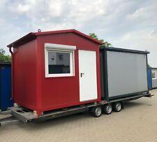 Bürocontainer  Büro, Aufenthaltsraum, Büro, Lager, Pförtnerhäuschen Lager