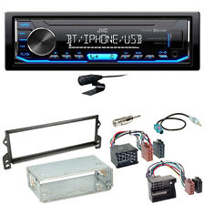 JVC KD-X351BT Bluetooth MP3 USB AUX Autoradio Einbauset für MINI R50 R52 R53