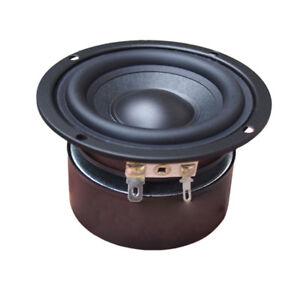 """3.5"""" inch 4Ohm 8Ohm 25W Double Magnetic Speaker Audio Woofer Bass Loudspeaker"""