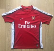 Maillot Foot Arsenal Nike Fly Emirates XL N*8 Nasri Gunners 2008-2009