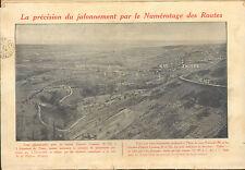 63 CLERMONT- FERRAND MICHELIN BIBENDUM PETITION NUMEROTAGE ROUTES PUBLICITE 1913