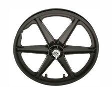 "Bicycle 20"" Rear Wheel Freewheel Mag Plastic 6-spoke Beach Cruiser Lowrider BMX"