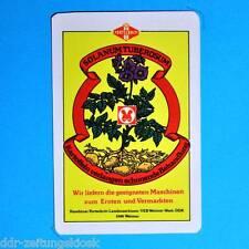 DDR Taschenkalender 1986 | VEB Weimar-Werk Landmaschinen Fortschritt