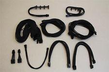 Custom Black Single Sleeved Cables Set Seasonic Platinum and Gold PSUs Mining