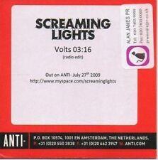 (870Y) Screaming Lights, Volts - DJ CD