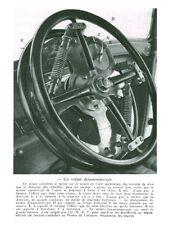 Publicité ancienne automobile un volant dynamométrique issue de magazine