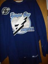 NHL 2006-07 GAME WORN NIKITA  ALEX EEV TAMPA BAY LIGHTENING HOCKEY JERSEY