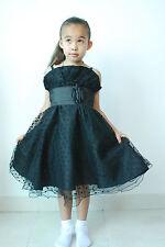 NUEVO Vestido niña de Fiesta Dama Honor 9 12 18 24 2 3 4 5 6 7 8 9 10 11 Años