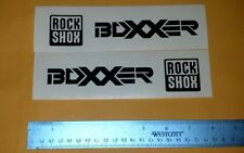RockShox Boxxer Sticker Decal lot of 4 Bike Fork DH MTB Freeride Downhill Dirt