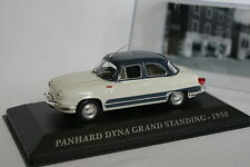 Ixo Carrera 1/43 - Panhard Dyna Grande Permanente 1958