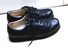 Mt. Emey Apis Black Leather Lace Up Oxford Wingtip Comfort Men Shoes 14(2E) 48,5