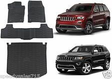 OEM Mopar Front & Rear Slush Floor Mat Combo For 2013-2018 Jeep Grand Cherokee