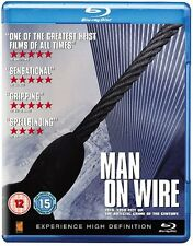 MAN ON WIRE [Blu-ray Disc] All Regions, Philippe Petit Movie - The Walk Remake
