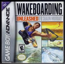 GBA Wakeboarding Unleashed (2003) Brand New & Nintendo Factory Sealed