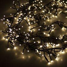 Cluster - Lichterkette 1512 LED's Innen / Aussen 8 Funktionen Warmweiß