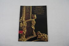 Catalogue SOTHEBY'S LONDON 25.07.1992 19th & 20th century furniture & decoration