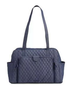 vera bradley factory style baby bag denim moonlight navy 24769l81