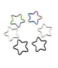 Piercings titanio de oreja