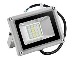 20W 12 Volts LED Floodlight Outdoor Yard Light Flood Cool White Lamp 12V IP65