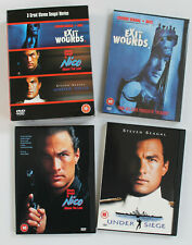 3 x STEVEN SEAGAL movie R2 DVD box set. EXIT WOUNDS / NICO / UNDER SIEGE