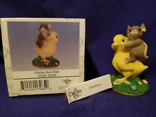 """Charming Tails - Fitz and Floyd - """"Chickie Back Ride"""" 88/700"""