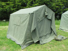 British Army 9x9 Land Rover Canvas Frame Command Tent Garden BBQ Event Party