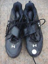 Shoes Under Armour cleats cleets black men's 11 UA armor soccer football shoe