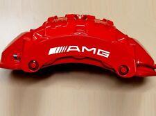 Curve AMG Caliper Decals  - Mercedes class - diff colors! HI TEMP.