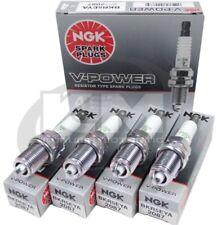 (SET OF 4) NGK 2087/BKR5EYA V-POWER PREMIUM COPPER SPARK PLUGS MADE IN JAPAN