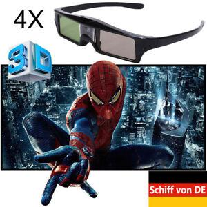 94-144Hz Aktiv Shutter 3D Brille für BenQ Acer Optoma ALL DLP Beamer Universal