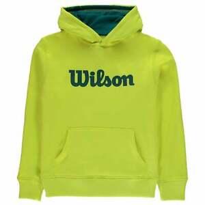 Wilson Script Hoody Boys OTH Hoodie Hooded Top
