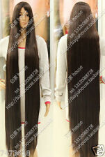 2016 new wig 150cm 60 inch Dark Brown Long straight hair Christmas costume wig