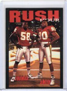 1993 Skybox DERRICK THOMAS NEIL SMITH Rush Hour #CB9 Chiefs