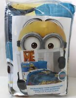 Despicable Me One In A Minion Microfiber Comforter Size Twin Blue